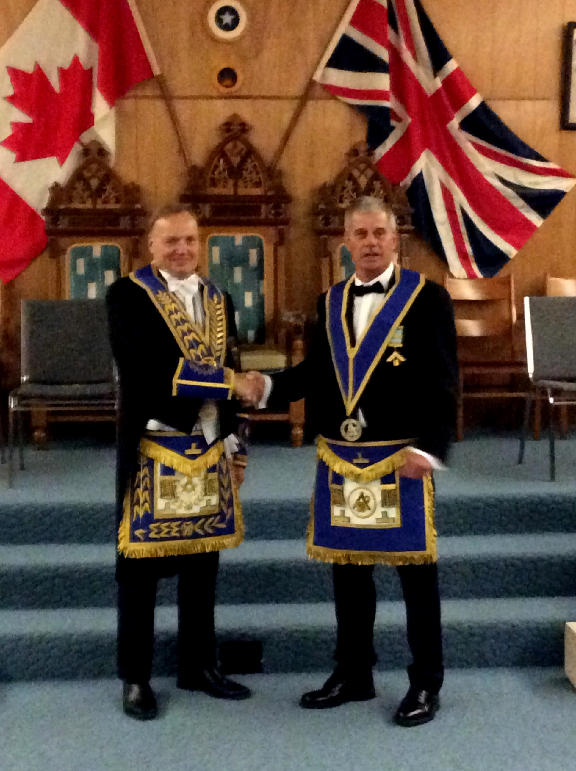 Brock Shannon Investiture2